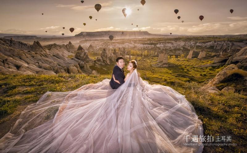 土耳其热气球婚纱照