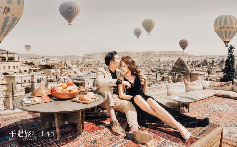 土耳其网红天台婚纱照