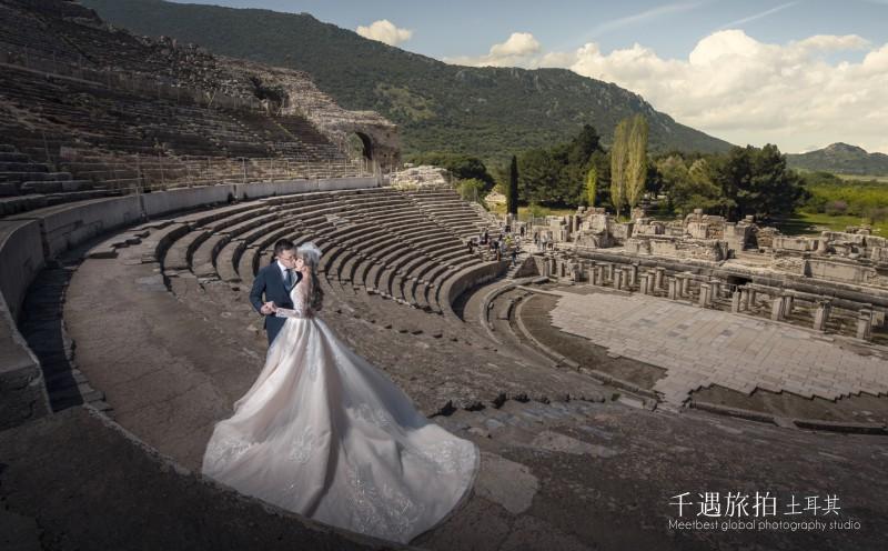 古罗马歌剧院婚纱照