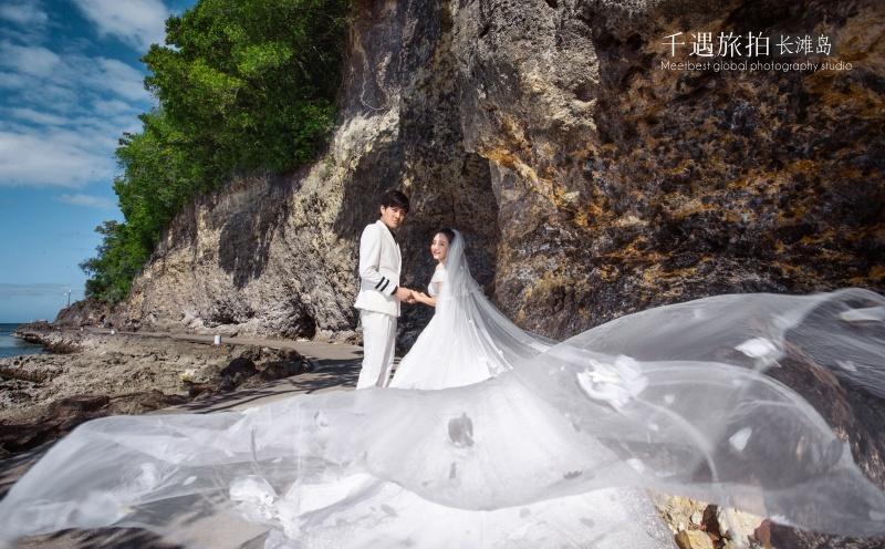 长滩岛旅拍婚纱照