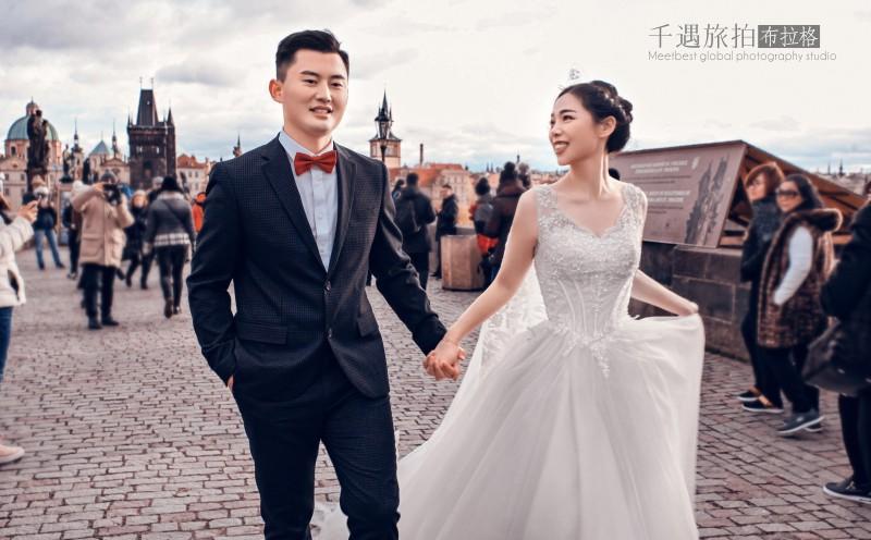 布拉格婚纱摄影