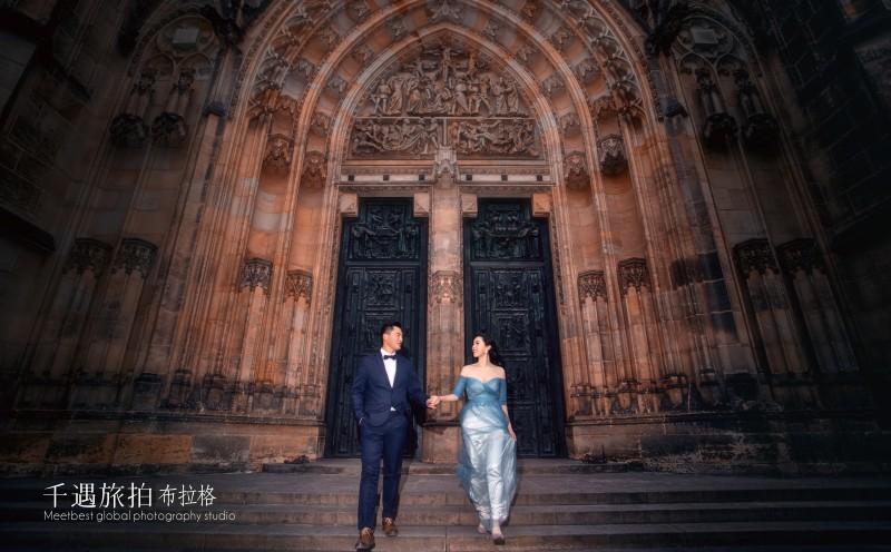 去欧洲拍婚纱照